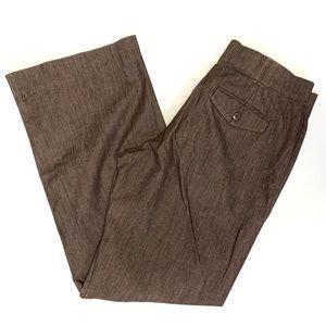 LEE No Gap Waistband Brown Trouser Pants Size 10